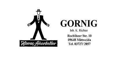 Herrenausstatter Gornig