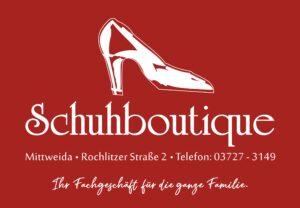 Werbung-Schuhboutique